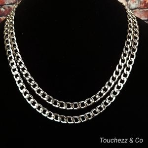 """Cuban Link Necklace 22"""" or 24"""""""